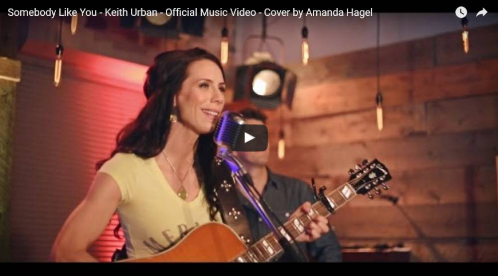 Somebody Like You – Keith Urban (cover by Amanda Hagel)