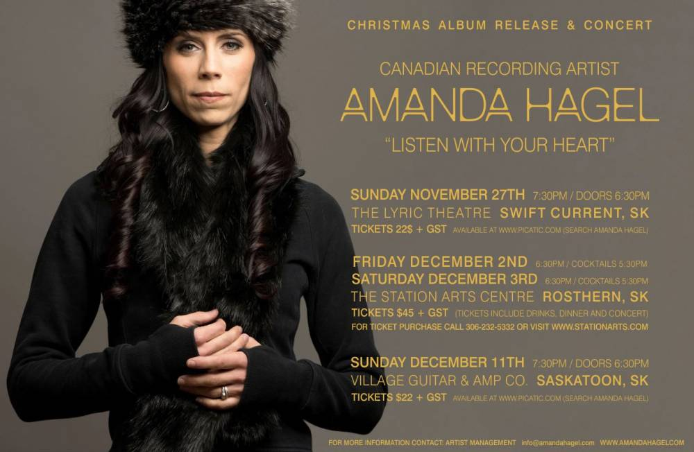 Listen With Your Heart – Christmas Album Release Coming Soon!