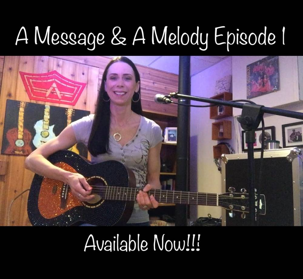 "Amanda Launches a New video Series Titled ""A Message & A Melody"""