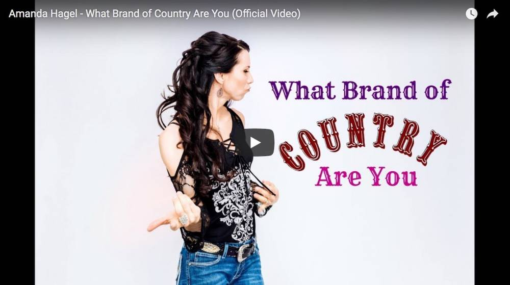 "Amanda's Highly Anticipated Brand New Single ""What Brand of Country Are You"" Has Officially Been Released!!"