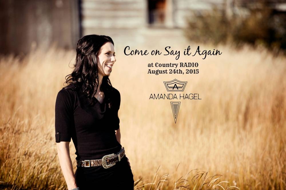 Amanda's Third Single Hits Country Radio